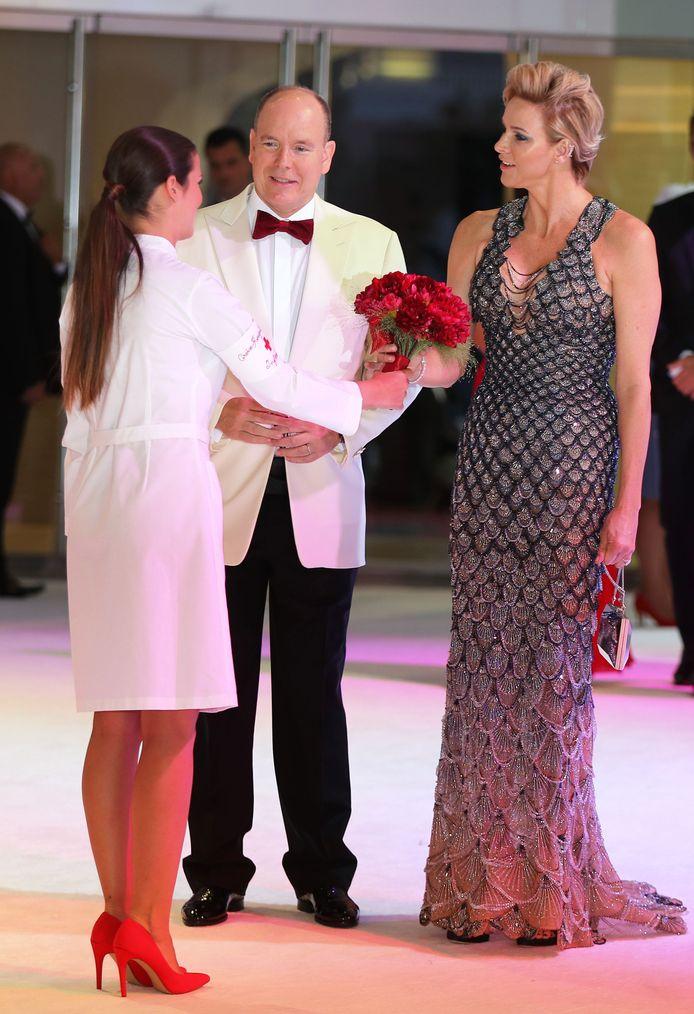 Prins Albert en prinses Charlene van Monaco.