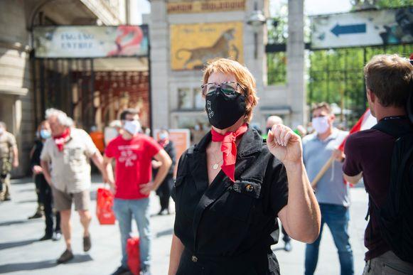 Een week geleden voerde het personeel van de ZOO in Antwerpen actie om sociaal overleg te eisen.