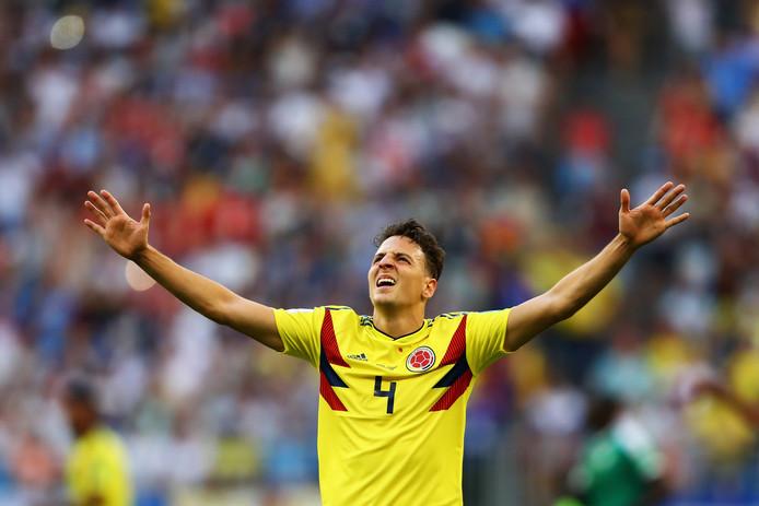 Arias speelde afgelopen maand voor Colombia op het WK.