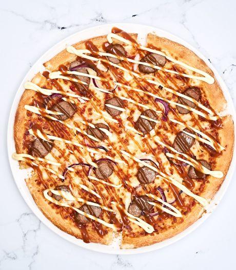 La Frikan'Belge, l'étonnante pizza à la fricadelle