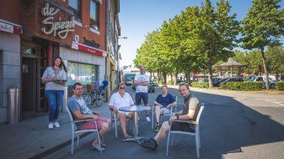 Cafés en restaurants Oostakkerdorp willen hele zomer 'horecastraat'