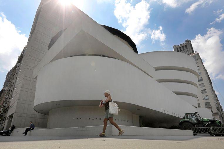 Het Guggenheim in New York. Beeld EPA
