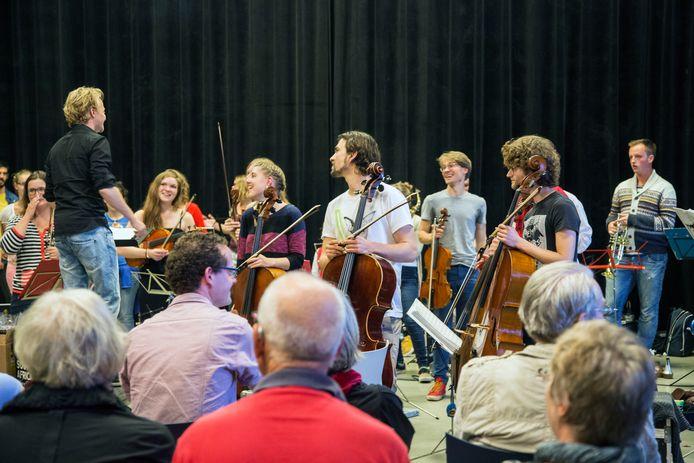 Door de jaren heen trad het Ricciotti ensemble vaker op in Twente, zoals hier in 2014 in Diepenheim.