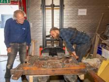 Aad Bruijns redde kunstwerkje uit vroeger tijden van de sloop