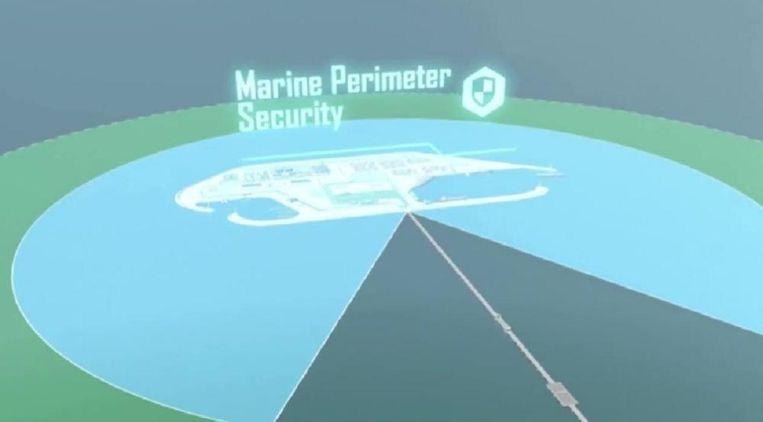 De Israëlische marine zal patrouilleren in de omgeving.