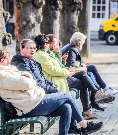 IN BEELD. Voorlopig laatste warme en zonnige lentedag lokt Bruggelingen massaal naar buiten