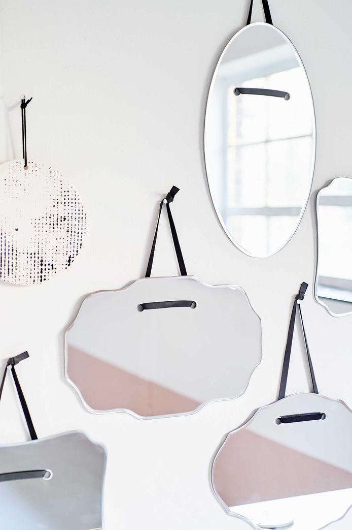 Spiegels doen je ruimte groter lijken.