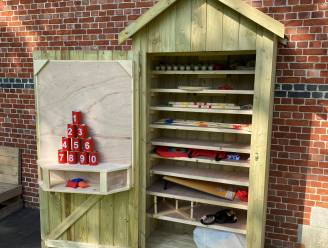 Leef je uit met volksspelen dankzij spelletjeskast in pastorijtuin van Olmen