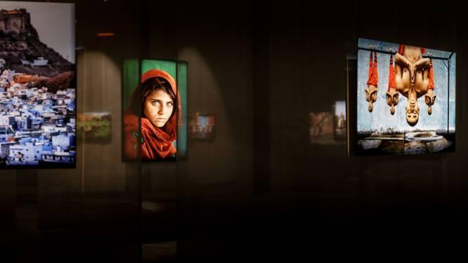 IN BEELD. Expo fotojournalist Steve McCurry met onder andere 'Afghan Girl'
