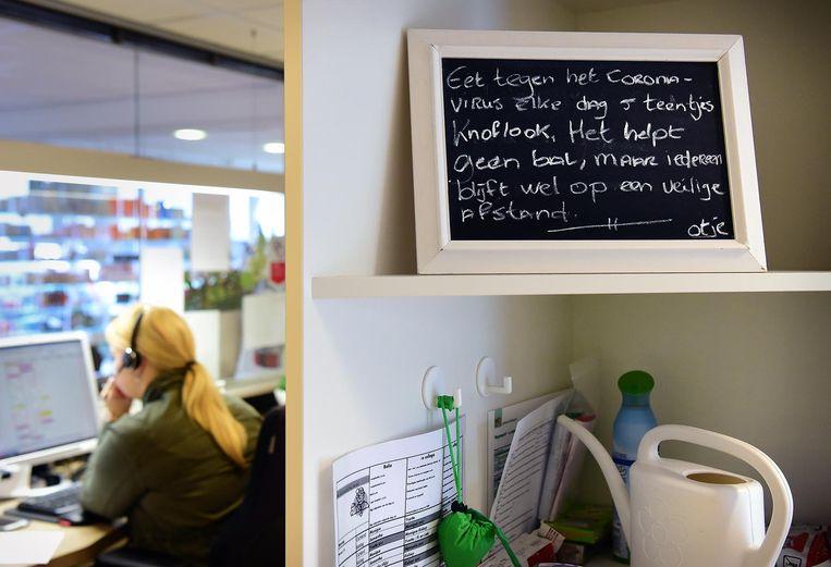 Goedbedoeld advies bij de huisartsenpraktijk van Florien Sengers en Gijs Schoenmaker.  Beeld null