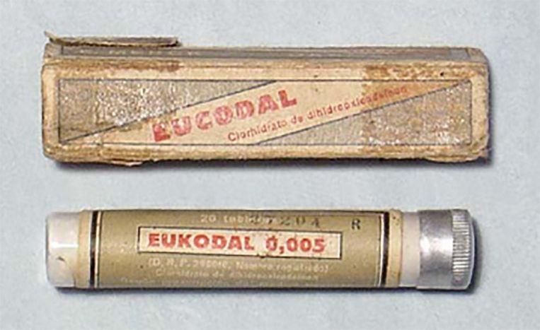 Eukodal, Hitlers geliefkoosde drug Beeld ub.edu