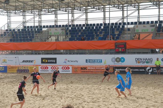 Het NK beachsoccer