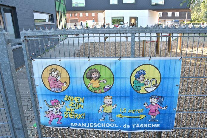 De Spanjeschool waar de dief toesloeg