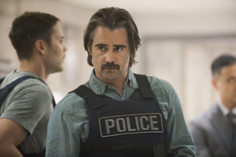Colin Farrell in het tweede seizoen van 'True Detective'. Beeld LACEY TERRELL