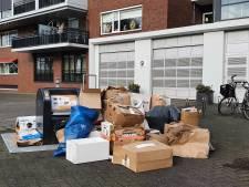 Naweeën sneeuw: inzameling oud papier in Hengelo gaat niet helemaal goed