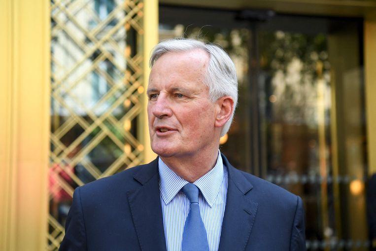 Michel Barnier. Beeld AFP