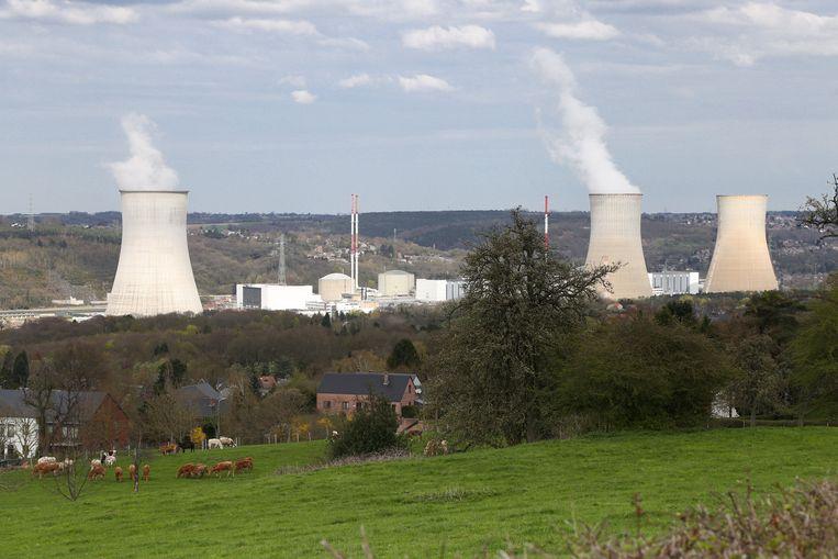 De kerncentrale van Tihange. Beeld