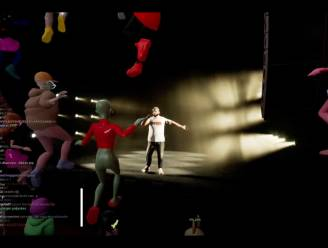 Zwangere Guy wijdt digitale AB in met virtual-realityconcert