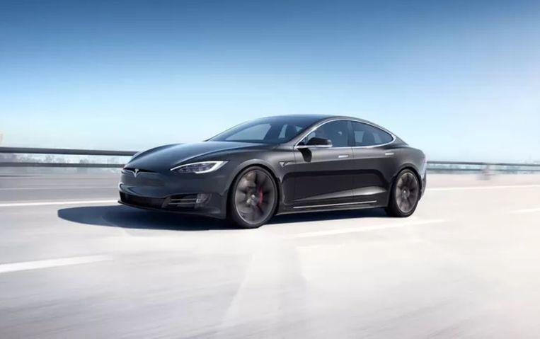 Tesla Model S Plaid. Beeld Tesla
