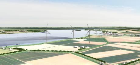 Hier in Dinteloord komen nieuwe windmolens, maar niemand weet hoe hoog ze worden
