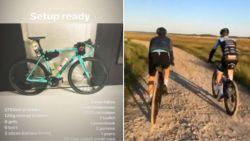 """""""Zelfs de beste profs halen paar Snickers"""": Van Aert en co rijden gravelrace van 324 kilometer, en voor die helse tocht is hoop materiaal nodig"""
