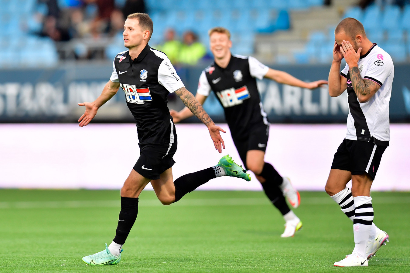 Joey Sleegers is in de eerste weken van het nieuwe seizoen dé grote man bij FC Eindhoven.