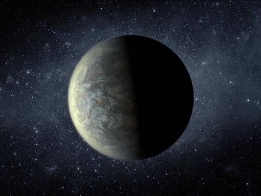 Impressie Kepler 20-f © NASA/Ames/JPL-Caltech