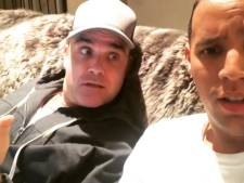 Lachen! Robbie Williams praat perfect plat Amsterdams