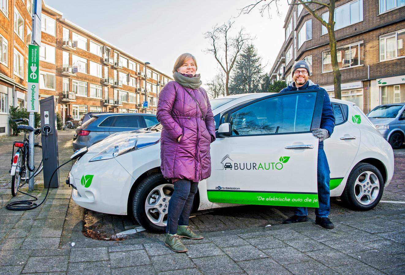 Idealistisch Rijden Door Elektrische Auto Te Delen Rotterdam Ad Nl