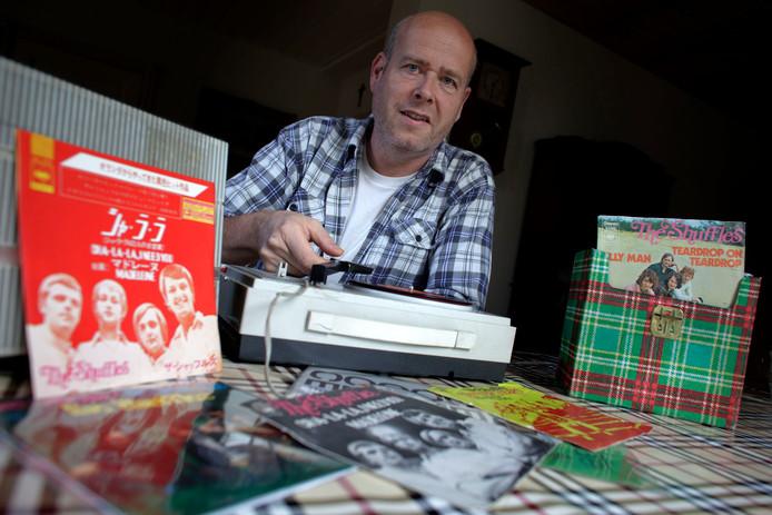 Peet Kappen in 2011. Destijds bracht hij een boek uit over The Shuffles.