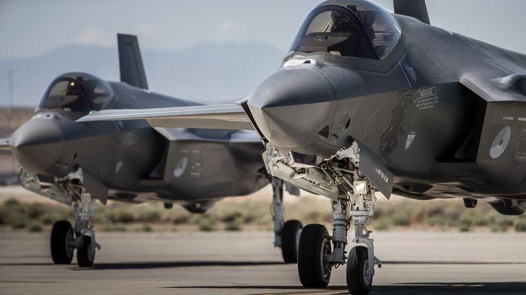 F-35 vliegtuigen.
