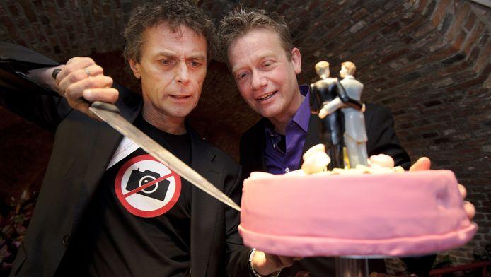 Burgemeester Eberhard van der Laan van Amsterdam sloot in het Amsterdam Museum het huwelijk tussen Jan van Breda en Thijs Timmermans. In Nederland is het homohuwelijk sinds 2001 mogelijk.