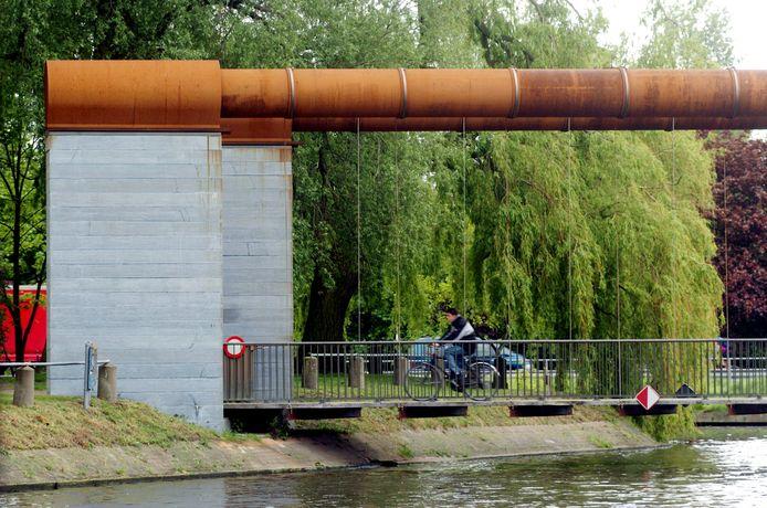 De ripdeal vond plaats aan de Coupure in Brugge.