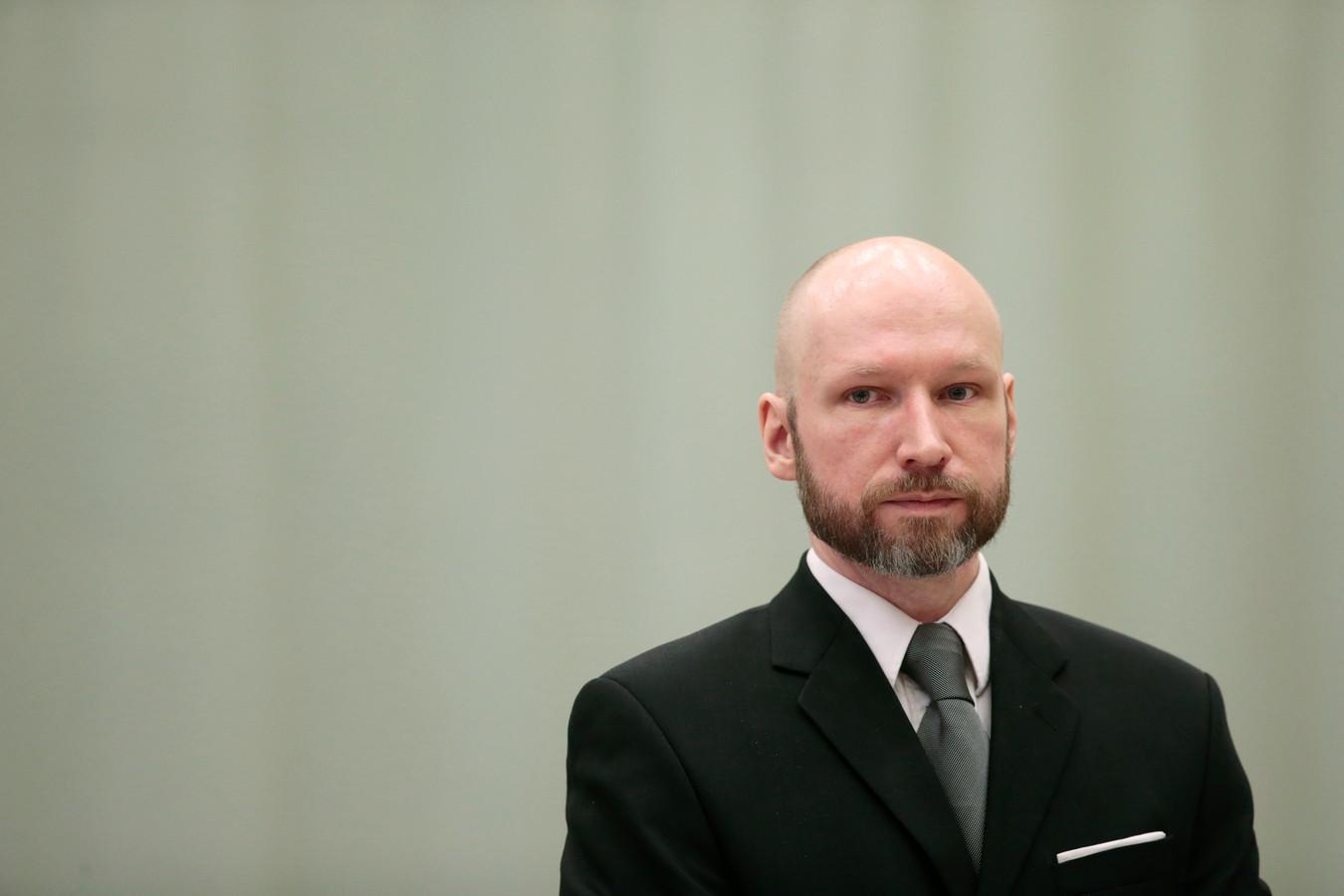 Anders Behring Breivik en janvier 2017.