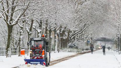 Sneeuw in Duitsland eist aan twee mensen het leven, vliegverkeer ontregeld