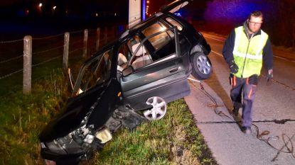 Rijbewijs ingetrokken na ongeval in de vroege uurtjes