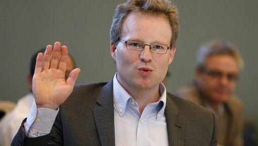 Philippe Henry (Ecolo), een van de vier nieuwkomers.