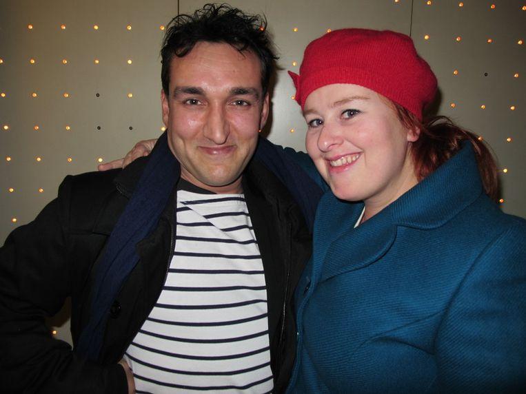 Regisseur Domenico Mertens en zijn geliefde Eva van der Gucht houden van Ozon.   <br /> Beeld