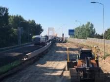 Deel Papendrechtse brug iets langer dicht vanwege uitgelopen werkzaamheden