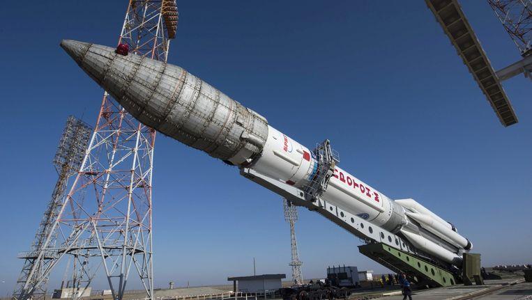 De Russische Protonraket. Beeld epa