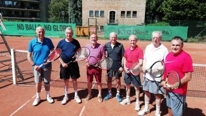 Heren 70+ van KTC Diest worden kampioen van Limburg