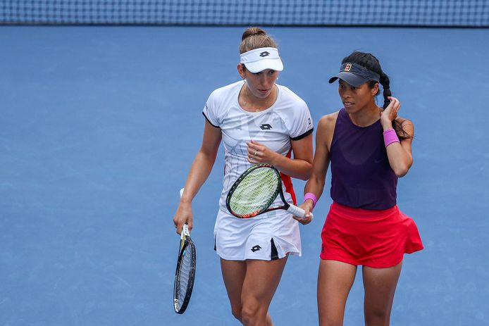 Elise Mertens et Su-Wei Hsieh avancent en double à Indian Wells.