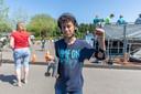 Ishano (13) had al snel alle toestellen geprobeerd.