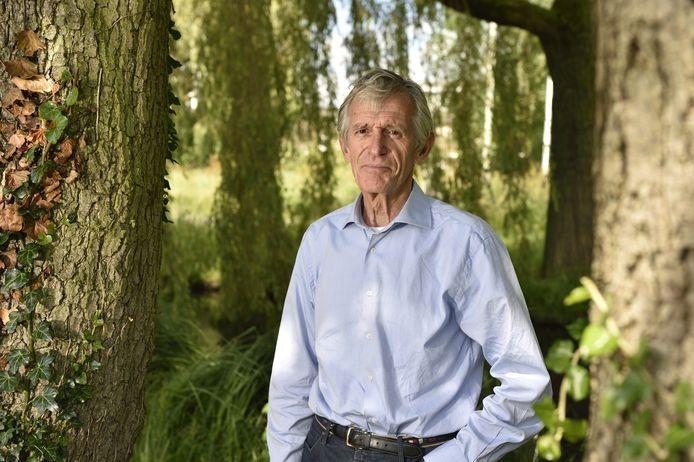 Voormalig voetballer en voetbaltrainer Piet van Mullem uit Gouda.