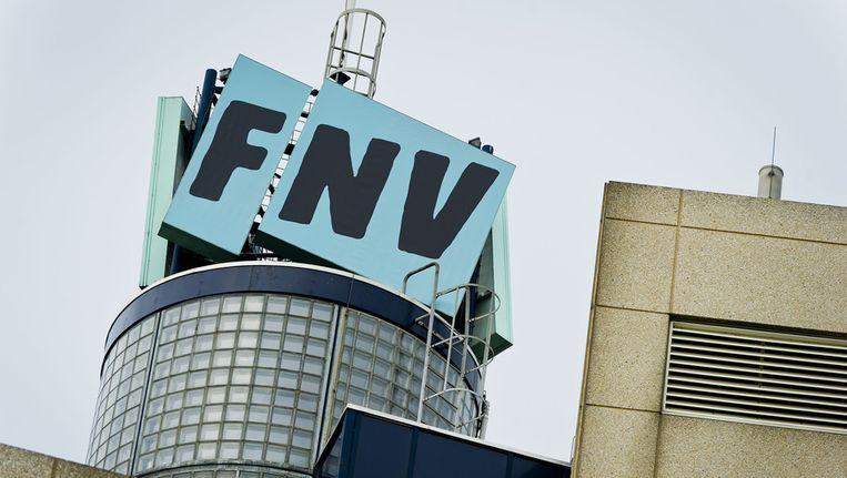 Het hoofdkantoor van FNV in Amsterdam. © ANP Beeld