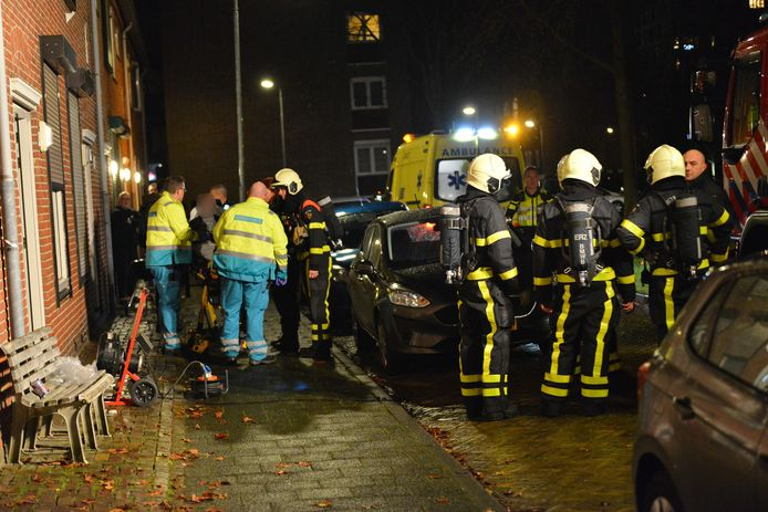 Bewoners gewond na aansteken barbecue in Breda