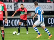 NEC'er Buwalda vraagteken voor wedstrijd tegen Volendam
