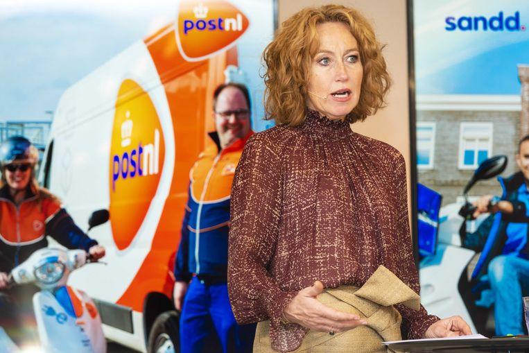 Herna Verhagen, de CEO van PostNL.
