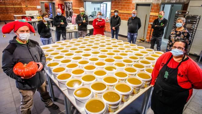Plopsaland laat soep koken van 1.000 pompoenen voor Halloween
