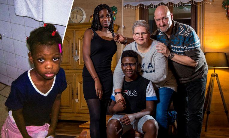 Clementine Majois werd 10 jaar geleden geadopteerd door een Belgisch koppel na de aardbeving in Haiti.
